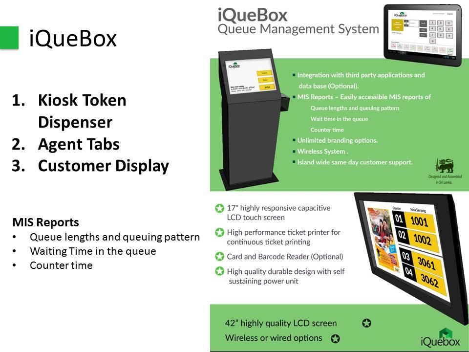 iQuebox Queue Management Systems and Solutions