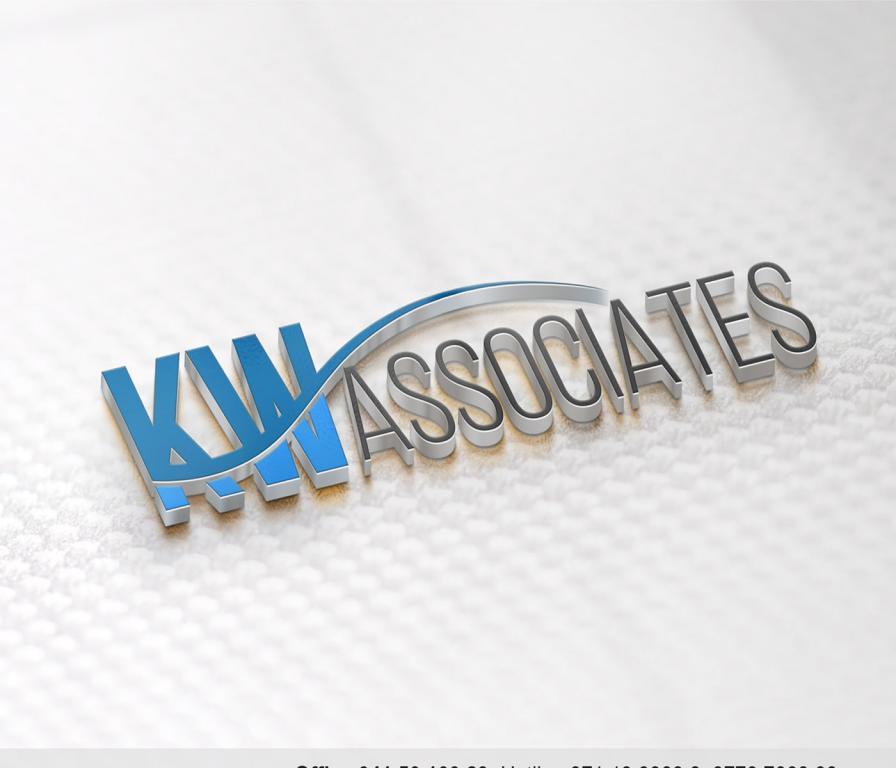 K W Associates Logo