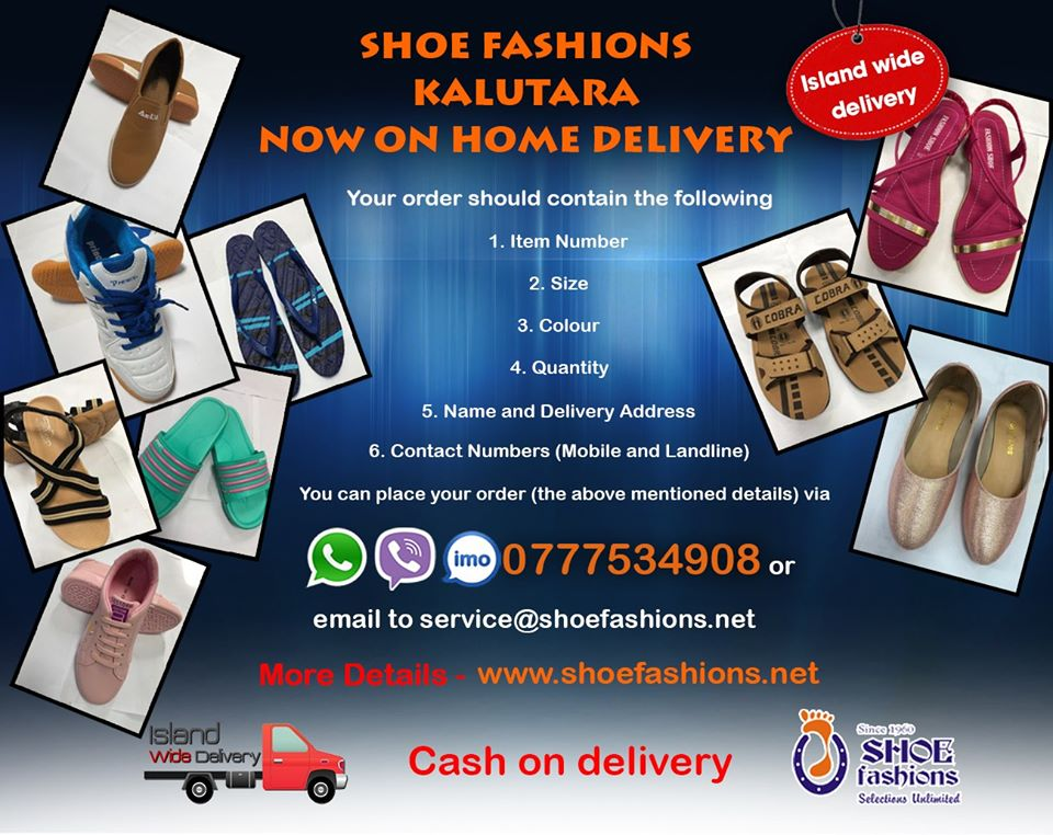Shoes to your doorstep